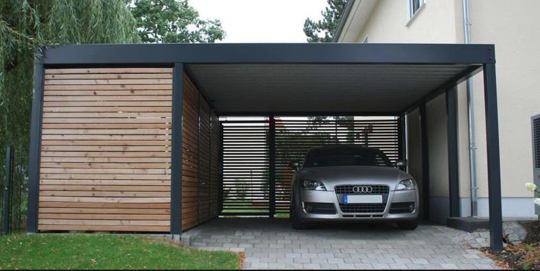 Wooden and steel carport installers